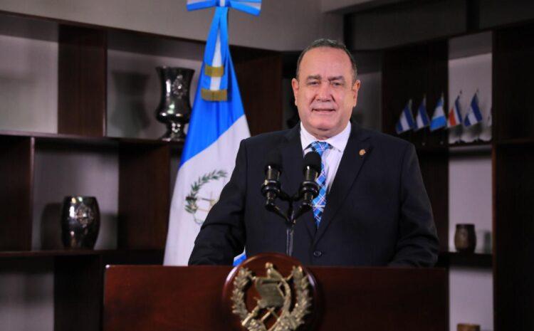 Giammattei: Departamento de Guatemala mantiene reducción de casos de COVID-19 durante 9 semanas consecutivas