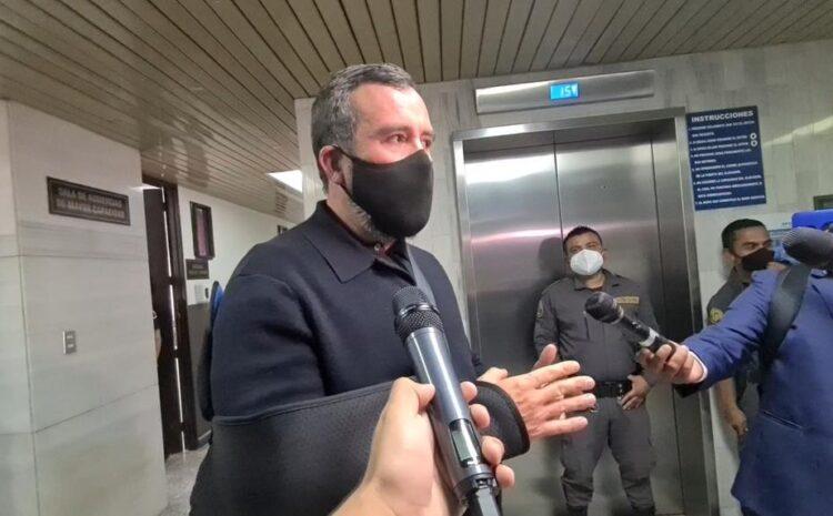Suspenden audiencia de Sinibaldi por el caso Transurbano ante ausencia de querellante