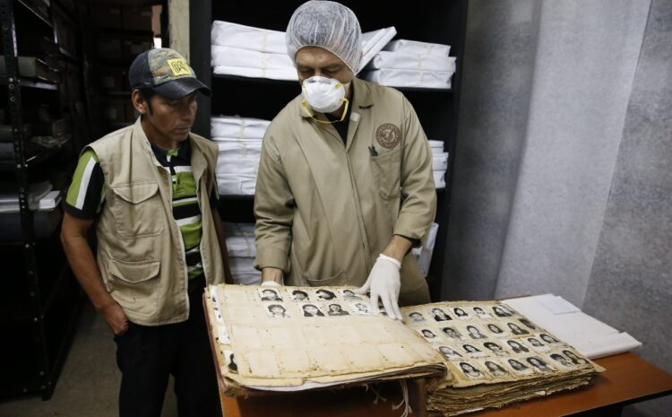 Declaran como Patrimonio Cultural de la Nación al Archivo Histórico de la Policía Nacional