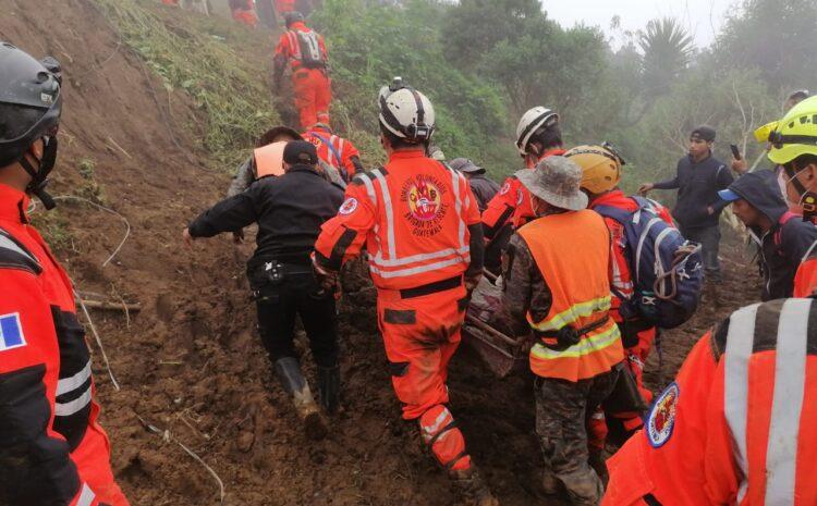 Autoridades suspenden labores de búsqueda de personas soterradas en Quejá