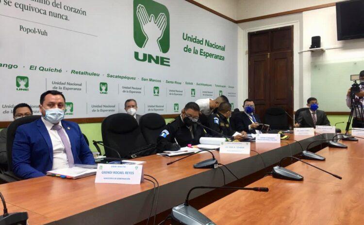 Diputados exigen renuncia del Mingob y Director de la PNC por represión de manifestantes