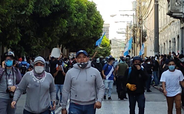 Se reportan 22 personas capturadas y 12 heridas en manifestación de este sábado