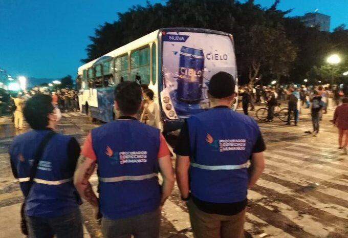 PDH pide la presencia de la PNC en manifestación por personas armadas