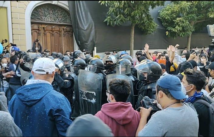 CIDH condena excesivo uso de la fuerza durante jornada de manifestaciones