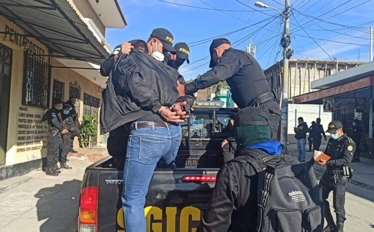 Capturan a 36 personas durante allanamientos contra la extorsión