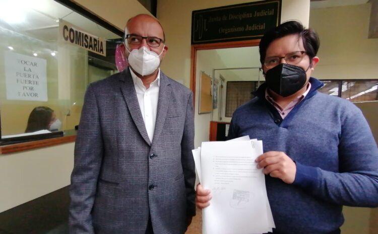 Acción Ciudadana pide al OJ que desrituya al juez Moto por posibles faltas en el ejercicio de su cargo