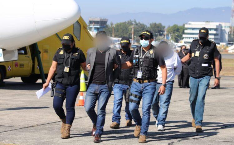 Autoridades capturan a tres guatemaltecos deportados de Estados Unidos
