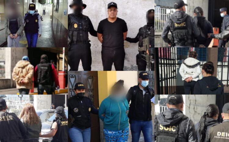 Autoridades capturan a extorsionistas integrantes de la Mara Salvatrucha