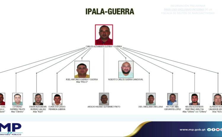 """Integrantes de la estructura criminal """"Los Ipala"""" son capturados luego de una denuncia de EE.UU. y escuchas telefónicas"""