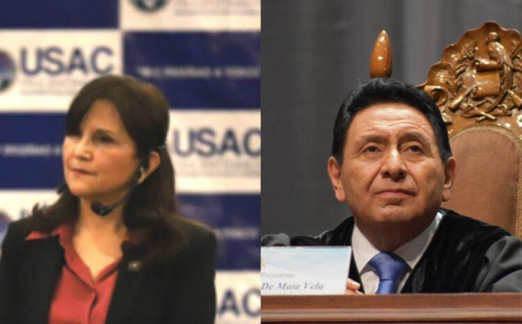 CSJ traslada al Congreso antejuicio en contra de los magistrados Porras y de Mata Vela promovido en 2019