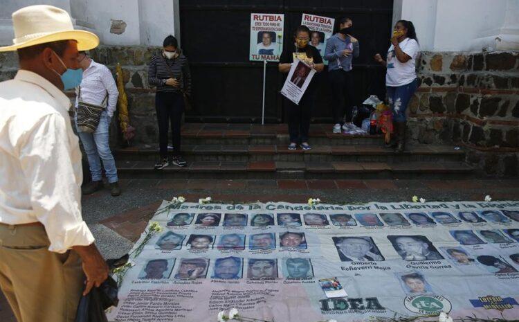 Bogotá suscribe un pacto para la búsqueda de las personas desaparecidas
