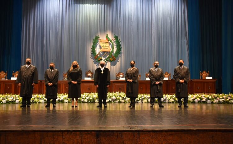 Se instala la VIII Magistratura de la CC con siete magistrados