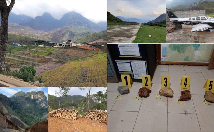 MP realiza allanamientos en finca de Alta Verapaz por irregularidades en extracción minera