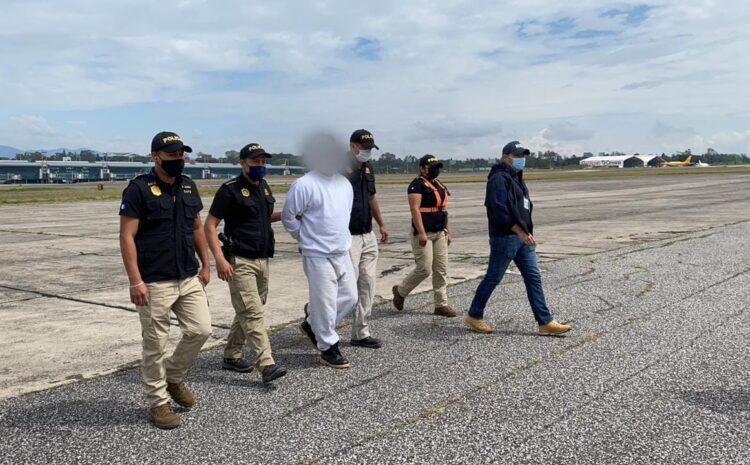Extraditan a Guatemala a implicado en el caso Dos Erres