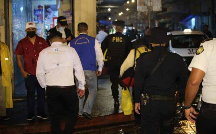 PNC captura a 108 personas durante fin de semana por incumplir medidas de bioseguridad
